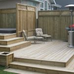 Pressure Treated Lumber Deck